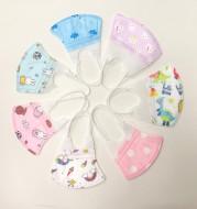 Protective Child Baby Cartoon Printing Three-Dimensional Mask