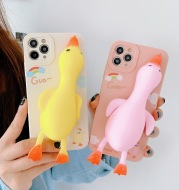 Suitable For Mobile Phone Case With Straight Side Cartoon All-Inclusive