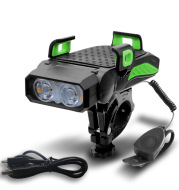 Bicycle Light Night Riding Rechargeable Glare Flashlight Bicycle
