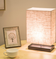 Bedroom Bedside LED Lamp Chinese Style Japanese Study Desk Lamp