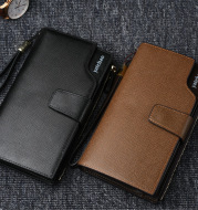Multifunctional Buckle Hand Bag Long Large-capacity Wallet