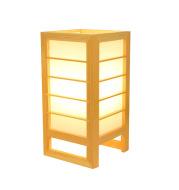 Solid Wood Tatami Bedroom Bedside Lamp Korean Style