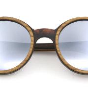 Bamboo Wood Glasses Press Board Wood Glasses