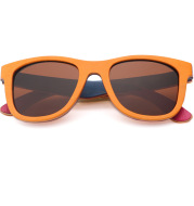 Men's And Women's Bamboo And Wood Sunglasses