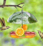 Rat-proof Metal Bird Feeder Outdoor Hanging Water Feeder