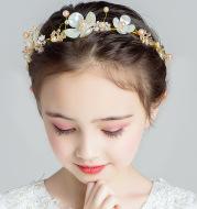 Super Fairy Princess Sen Is Korean Flower Girl Headband Girl Head Flower Girl Show Catwalk Jewelry