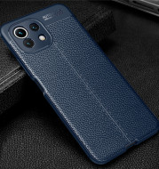 Lychee Leather Pattern Men's Mobile Phone Case Protective Cover