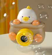 Creative Cute Automatic Bubble Machine Light