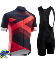 Road And Mountain Bike Cycling Jerseys Men's Tops Spring And Summer Cycling Jerseys