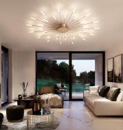 New Restaurant Study Creative Lamp Net Red Bedroom Lamp Ceiling