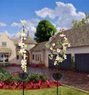 Solar Ground-Inserted Cherry Firework String Outdoor Waterproof
