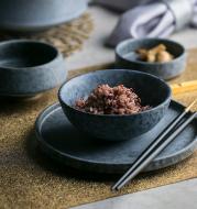 Ceramic Tableware Steak Plate Bowl Plate Rice Bowl