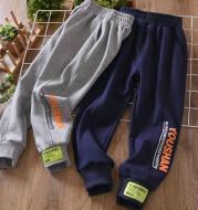 Printed Bouquet Feet Children's Cotton Sweatpants