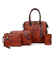 Women's Mother Bag Four-piece Handbag