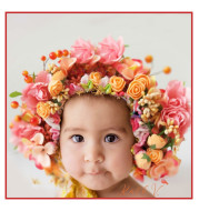 Children's Hair Accessories Baby Girl Hairband Photo Photo Head Flower