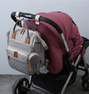 New Mommy Backpack Can Hang Baby Stroller Baby Bag Folding Crib Mommy Bag