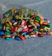 454 Color Set Of Single Cross Stitch Thread