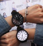 Fashion All-Match Roman Scale Couple Watch