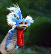 Funny Toy Worm From Labyrinths Handmade Worm Stuffed Toy Funny Present Plush Doll Fitget Toys Decoration Artwork For Home