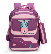 Pupils' Schoolbags And Spine Protection Running Rivers And Lakes Children's Backpack