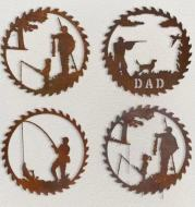 Father's Day Gift Fishing Decoration Pendant Crafts