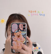 Ins Cute Bear Shatter-resistant IPhonex Apple 11 Mobile Phone Case