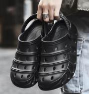 Soft Bottom Fashion Hole Shoes Couple Trend