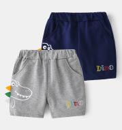 Boys' Sports Shorts Sports Children's Striped Shorts