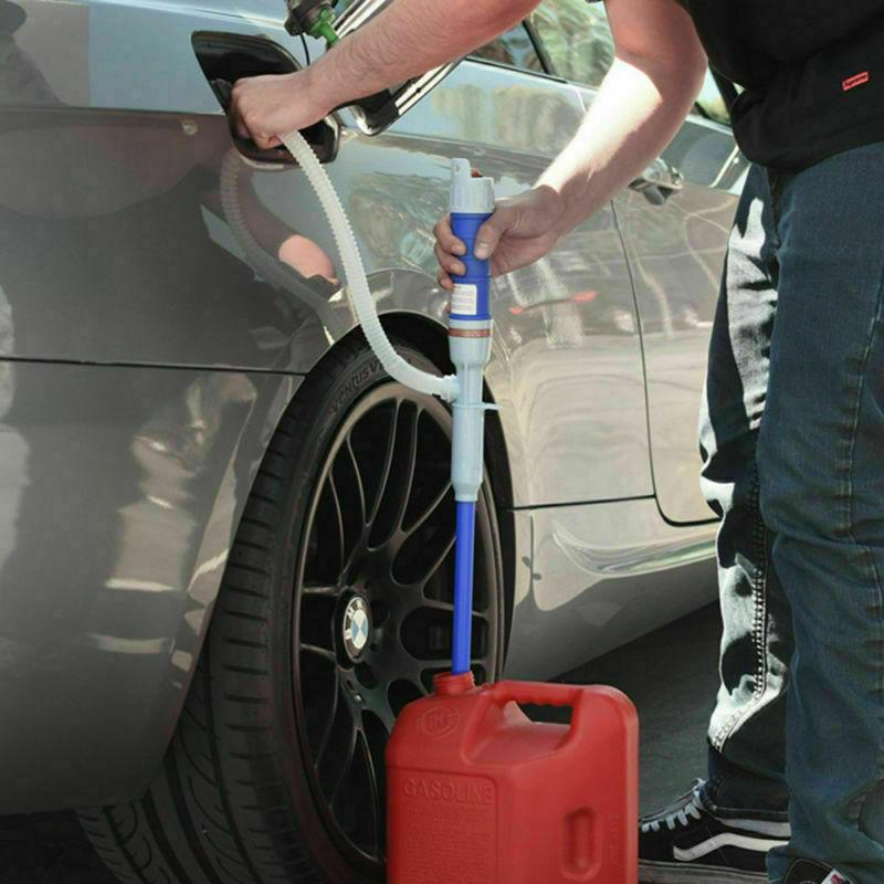 Sucker Manual Siphon Suction Water Chemical Liquid Pump