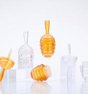Mini Bee Fang Honeycomb Lip Gloss Lip Glaze Lip Gloss Empty Tube