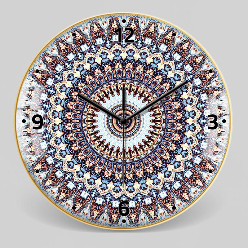European Style Decorative Pattern Wall Clock 17