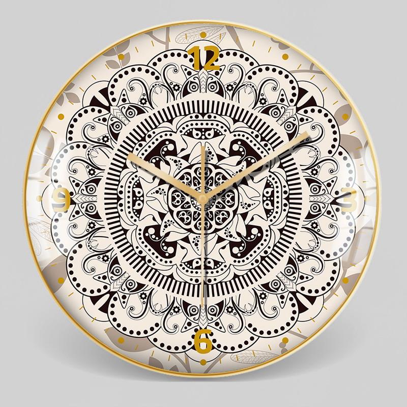 European Style Decorative Pattern Wall Clock 16