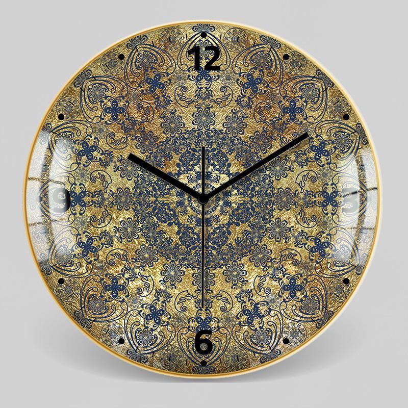 European Style Decorative Pattern Wall Clock 10