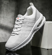 Fashion Trendy Breathable Mesh Fly Woven Casual Sneakers