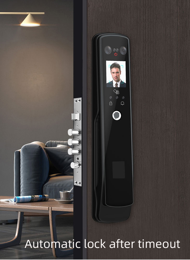 Anti-theft Intelligent Door Locks Password Palmprint Fingerprint Lock