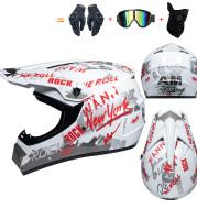 Full Cover Four Seasons Off-road Helmet Racing Downhill Cap Kart
