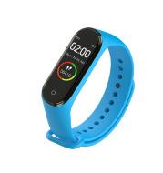 Waterproof Business Sports Pedometer Heart Rate Blood Pressure Monitor Sleep Color Smart Bracelet Watch
