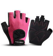 Sports Fitness Cycling Non-slip Shock Absorption Wear-resistant Bicycle Half-finger Gloves