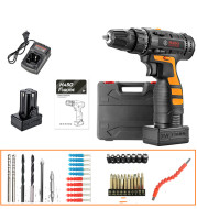 12V Lithium Electric Drill Rechargeable Multifunctional Household Electric Screwdriver
