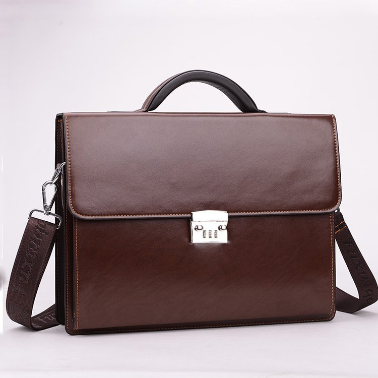 Business Briefcase With Lock 4