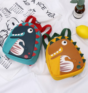 Non-Slip Wear-Resistant Cartoon Cute Dinosaur Children's Small Backpack