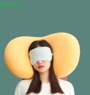Cat Belly Pillow Memory Cushion Deep Sleep Addiction 3D Neck Pillow Washable Polyester Pillowcase Cover Travel Pillows Neck
