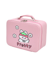 Cute Large-capacity Cosmetic Bag, Extra-large Portable High-end Storage Box