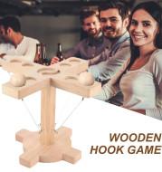 Loop Throwing Game DIY Kit Heavy Hardware And Rope Loop Throwing Game Indoor Addictive Fun Office Gamefor