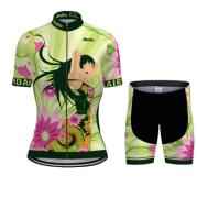 Summer SKY Short-sleeved Bib Cycling Jersey