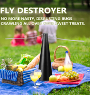 Automatic Fly Catcher, Fly Catcher, Fan Blade Plastic Mosquito Repellent Fan