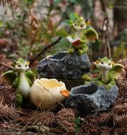 Cartoon Flower Pot Succulent Pot Planters Container Ornaments Dinosaur Figurines Home Garden Desktop Decor