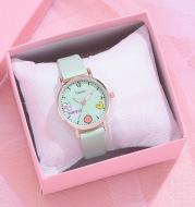 Gaiety new women''s fashion Pu Watch Bracelet combination set student girl gift factory direct sale