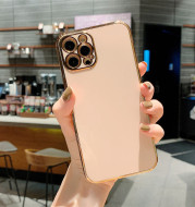 Luxury Solid Color Electroplating Mobile Phone Case All-inclusive Creativity