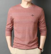 Men's T-Shirt Round Neck Loose Cotton Sweatshirt